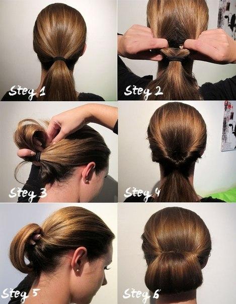 Причёски для короткие волос на каждый день в домашних условиях
