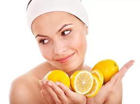 делать маску для лица из лимона