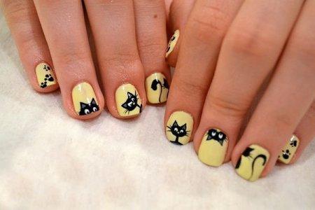 Как сделать красивый маникюр на коротких ногтях в домашних условиях легко