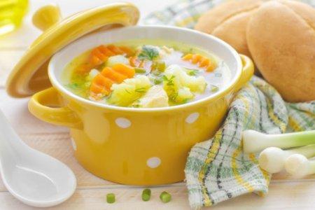 Раздельное питание: рецепты супов