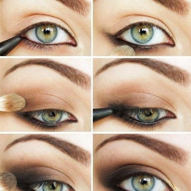 Создаем черные глаза в Photoshop