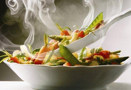 Здоровое питание:ТОП-5 рецептов в пароварке