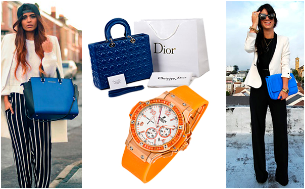 Аксессуары Dior и Hublot