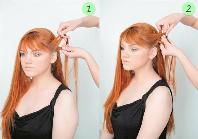 Сделать красивую прическу и легкую для средних волос