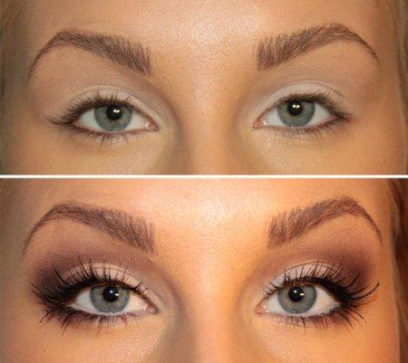 Макияж глаз: как увеличить глаза
