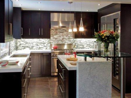 Современный дизайн кухни: ТОП-5 вариантов оформления