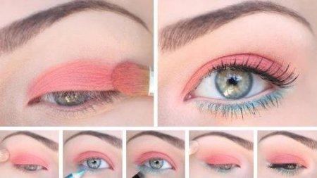 Макияж глаз с опущенными уголками: советы экспертов
