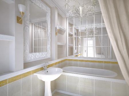 4 варианта обустройства маленькой ванной комнаты
