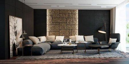 ТОП-7 модных вариантов оформления дизайна гостиной