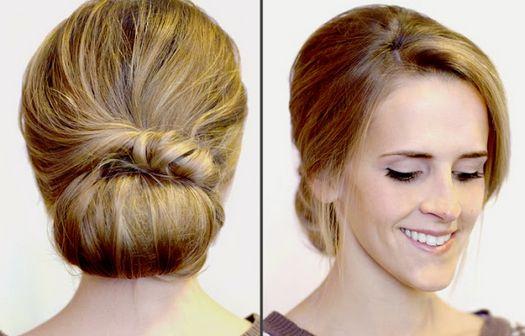 Как уложить волосы средней длины в домашних условиях