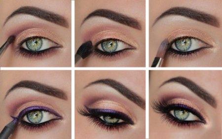Как сделать крутой макияж для зеленых глаз