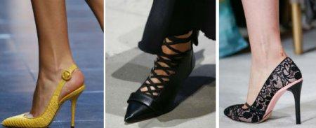 Какая обувь в тренде сезона Весна-Лето 2018